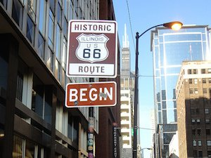 begin route 66 chicago