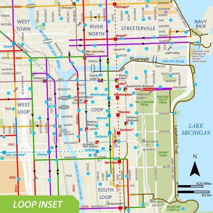 fietspaden chicago