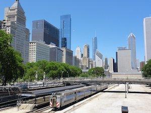 metra trein chicago