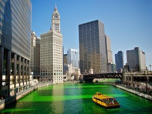 st patricks day chicago