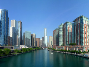 chicago-river-richting-downtown-300x225