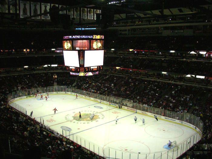 chicago blackhawks wedstrijd