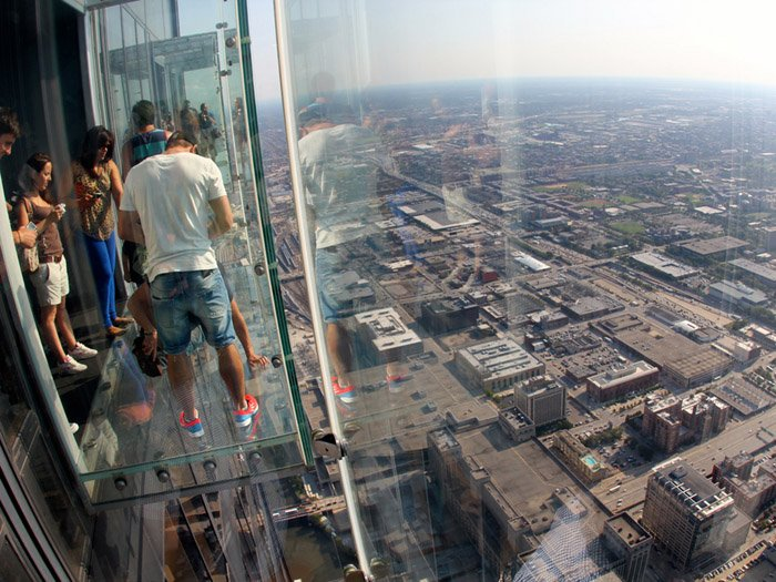 ledge willis tower chicago