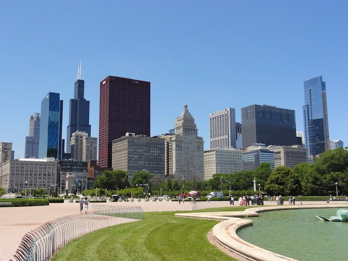 chicago loop skyline