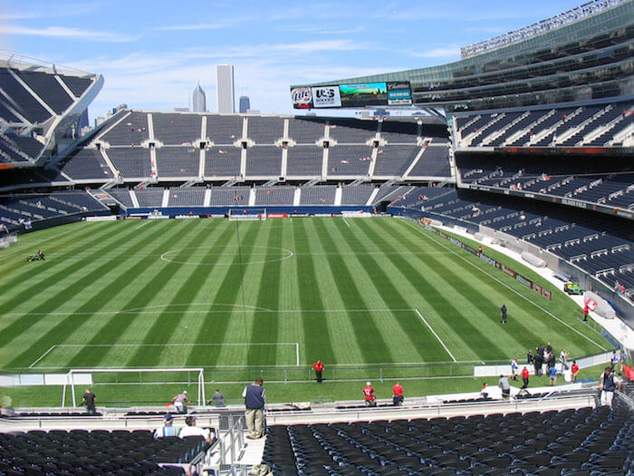 chicago fire voetbal soldier field