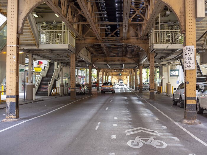 fietspad chicago