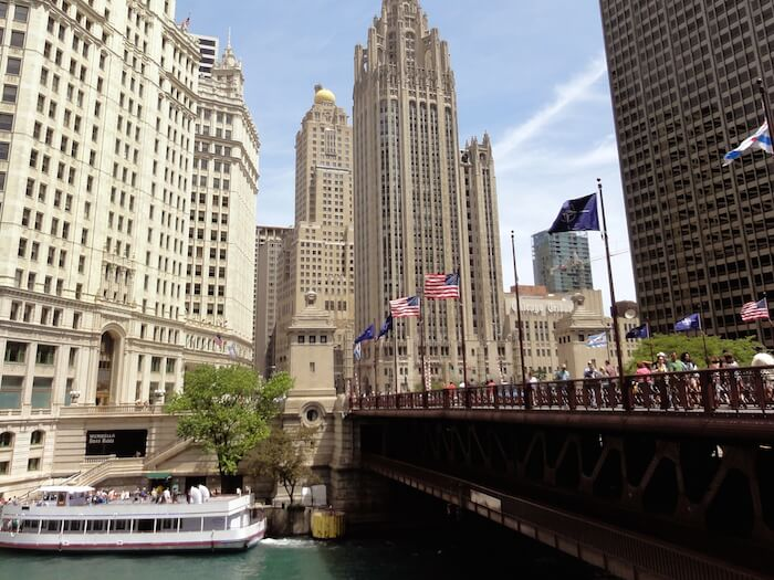 michigan avenue bridge chicago