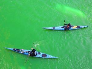 groene rivier chicago